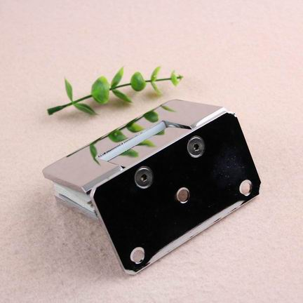 90 degree wall to glass secund templated glasses case hinge in polish chrome color
